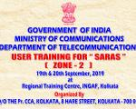 SARAS - USER TRAINING ZONE-2 19TH & 20TH SEPTEMBER, 2019_1